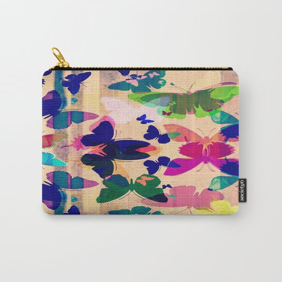 Butterflies on board Carry-All Pouch
