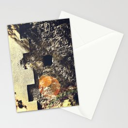 Wall Motive Texture Stationery Cards