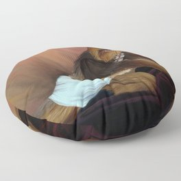 Chewbacca and the Timeless Art of Seduction Floor Pillow