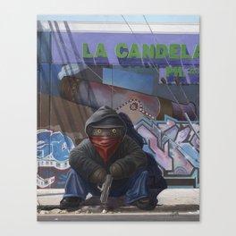 Gangsta Teddy - Aftermath Canvas Print