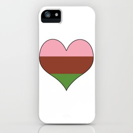 Gynesexual Heart iPhone Case