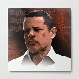 Breaking Bad Illustrated - Tuco Salamanca Metal Print