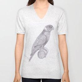 Lorikeets Bird drawing Unisex V-Neck