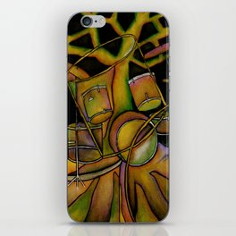 Drums- Rooted Beat iPhone Skin