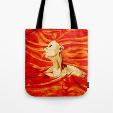 Caught on Fire Tote Bag