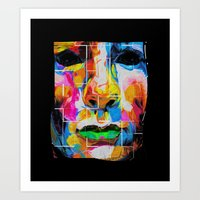 Nixo Abstract A66 Art Print