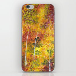 Autumn Trees iPhone Skin