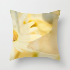 Daisy and Pearl Throw Pillow