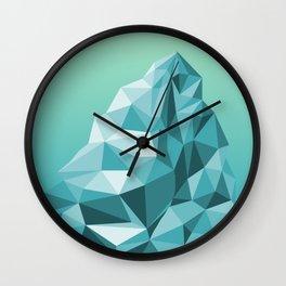 Philosophical Iceberg Wall Clock