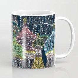 Moscow in Holiday Lights Coffee Mug