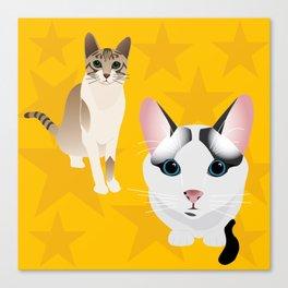 MyCats Canvas Print