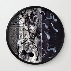 Psychoactive Bear 5 Wall Clock
