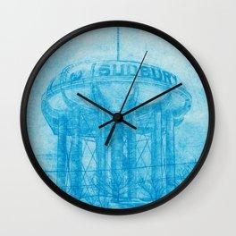 The Sudbury Water Tower Wall Clock