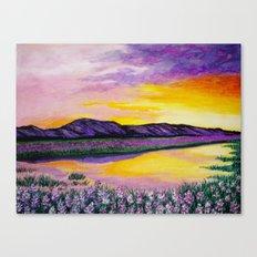 Purple Sunset Canvas Print