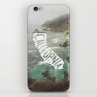 california iPhone & iPod Skins featuring California by cabin supply co