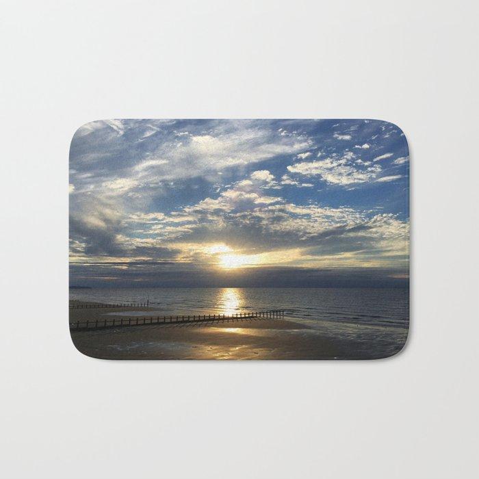 Sunset Beach Bath Mat