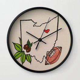 OH....IO Wall Clock