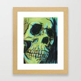 where is my skin ? Framed Art Print
