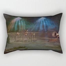Zombie Party Rectangular Pillow