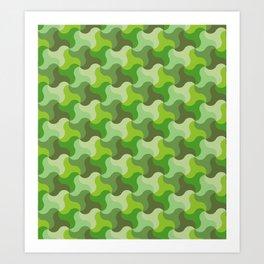 All-Green Alhambra Art Print