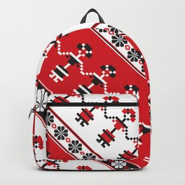 Romanian pixelwork Backpack