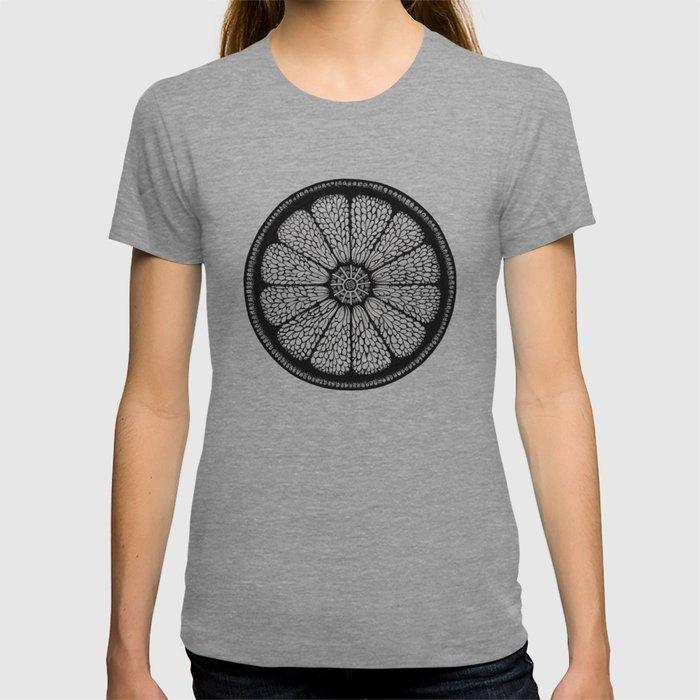 Citrus Slice - Black Ink T-shirt