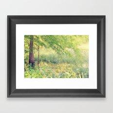 Fairy Forest Framed Art Print