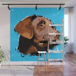Labrador Puppy Wall Mural