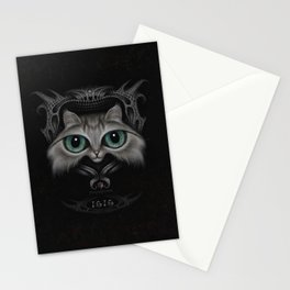 Isis the cat Stationery Cards