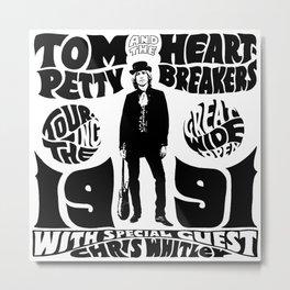 tom 1991 petty 2021 ngapril Metal Print