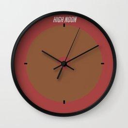 Mcree's High Noon Clock Wall Clock