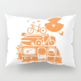 Funny family vacation camper Pillow Sham