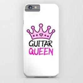 Guitar Queen iPhone Case