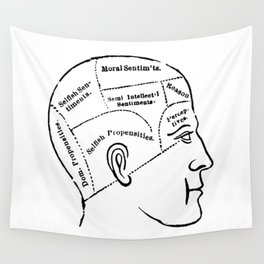 Human mind Wall Tapestry