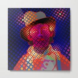 ZoooooZ - Pop Art  Billy The Kid Metal Print