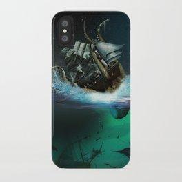 Kraken Attack iPhone Case