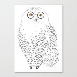 You-Know-Hoo? Canvas Print