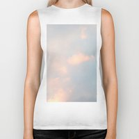 edinburgh Biker Tanks featuring edinburgh sky by Cassandra Tavukciyan
