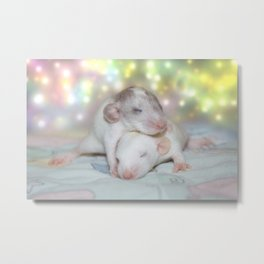 Glitter Dreams Metal Print