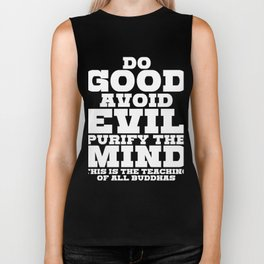 Spread the Love with this Peace of mind Tshirt Design Do good Biker Tank