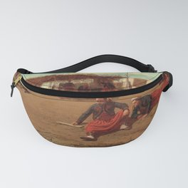 12,000pixel-500dpi - Winslow Homer1 - Pitching Quoits - Digital Remastered Edition Fanny Pack