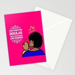 Postpartum Doulas Treat New Moms Like Queens Stationery Cards