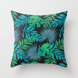 Tropical Camouflage Throw Pillow