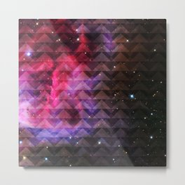 Galaxy Tribal Elevator Metal Print