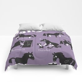 The Daily Tail Horse Comforters