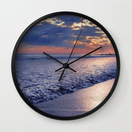 Peace of Mind Cayucos Beach Wall Clock