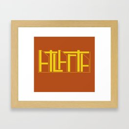 Atlanta Framed Art Print