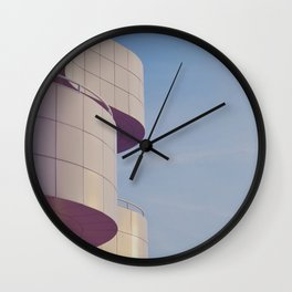 Structured Waves Wall Clock