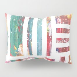 Color Pallet painting by Moe Notsu Pillow Sham