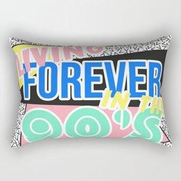 FOREVER LIVING IN THE 90'S Rectangular Pillow